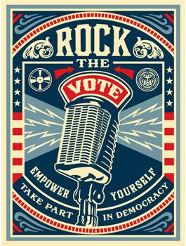 Shepard Fairey, Rock The Vote