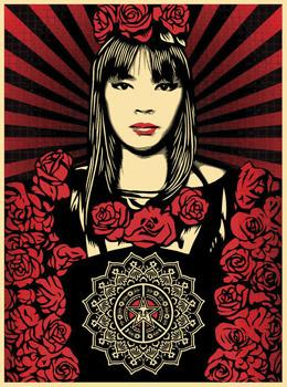 Shepard Fairey, Rose Girl