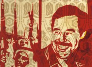 Shepard Fairey, Saddam Rubylith