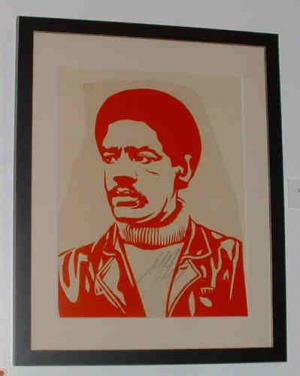 Shepard Fairey, Bobby Seale Rubylith