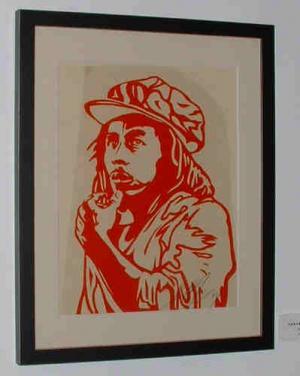 Shepard Fairey, Bob Marley Rubylith