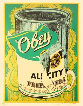 Shepard Fairey, Soup Can II