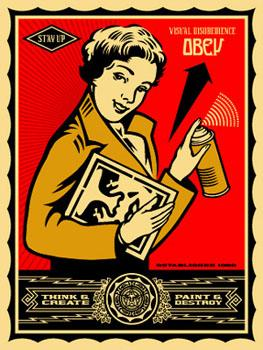 Shepard Fairey, Stay Up Girl
