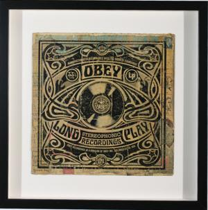 Shepard Fairey, Stereophonic Long Play Album Cover HPM