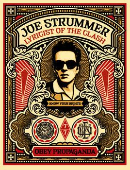 Shepard Fairey, Joe Strummer
