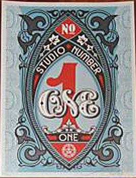 Shepard Fairey, Studio Number One Designer Series Volume 2 - Shepard Fairey