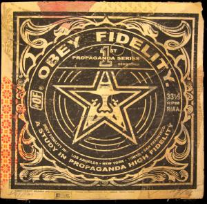 Shepard Fairey, Study in Propaganda Album Cover HPM