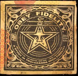 Shepard Fairey, Study in Propaganda Album Cover HPM