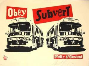 Shepard Fairey, Obey Pistols Subvert Cream
