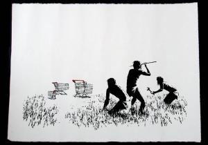 Banksy, Trolleys Unsigned
