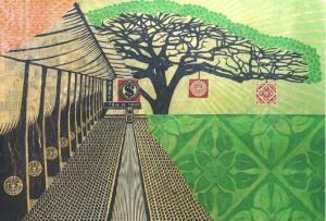 Shepard Fairey, This is Your Church Mural Canvas