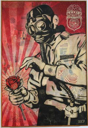 Shepard Fairey, Toxic Dept Canvas
