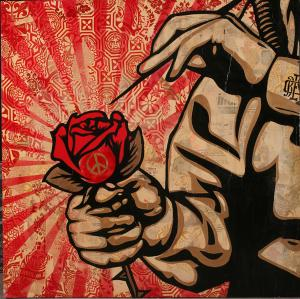 Shepard Fairey, Toxic Dept Canvas Large