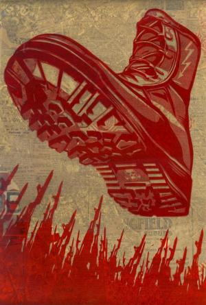 Shepard Fairey, Tyrant Boot Rubylith