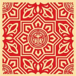 Venice Pattern Red