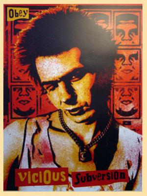 Shepard Fairey, Vicious Sub Version Red