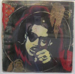 Shepard Fairey, Slick Rick Stencil Collage on Album Cover