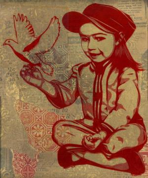 Shepard Fairey, Vivi La Revolution Rubylith