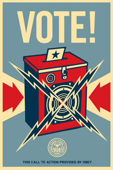Shepard Fairey, Vote!