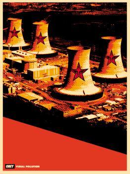 Shepard Fairey, Visual Pollution Smoke Stacks