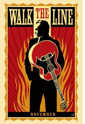 Shepard Fairey, Walk the Line Small