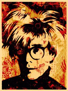 Shepard Fairey, Warhol