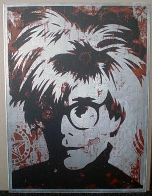 Shepard Fairey, Warhol on Metal 