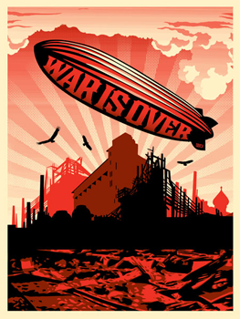 Shepard Fairey, War is Over