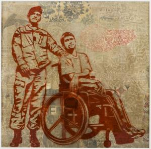 Shepard Fairey, Wheelchair Rubylith 
