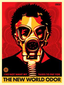Shepard Fairey, World Odor