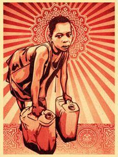 Shepard Fairey, Yellow Cans