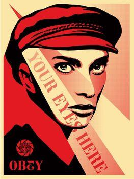 Shepard Fairey, Your Eyes Here
