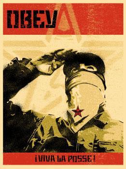 Shepard Fairey, Zapatista Print