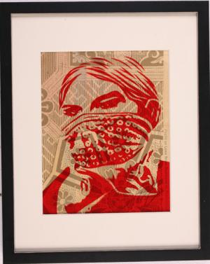 Shepard Fairey, Zapatista Woman Rubylith