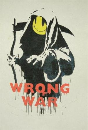 Banksy, Wrong War