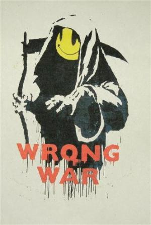 Banksy, Wrong War