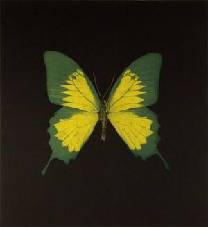 The Souls on Jacob's Ladder Take Their Flight (Green/Yellow)