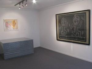 Arbeiten auf Papier - Keith Haring & Frank Stella