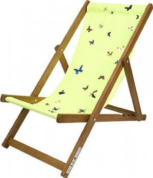 Deckchair, Lime Green