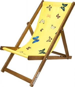 Deckchair, Yellow