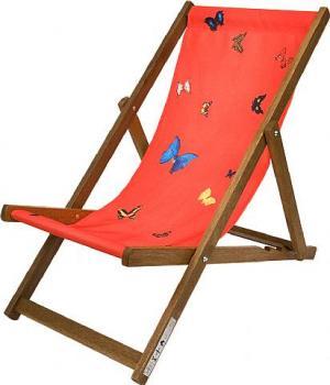 Deckchair, Red