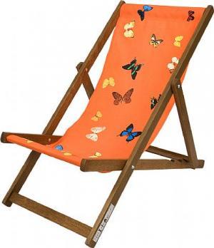 Deckchair, Orange