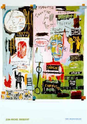 """Jean-Michel Basquiat """"In Italian"""""""