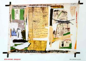 "Jean-Michel Basquiat ""Jawbone of an Ass"""