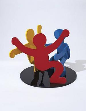 Untitled (Three Dancing Figures) Version B *SOLD*