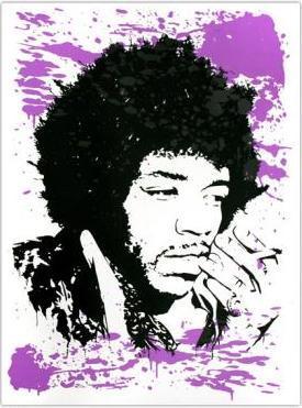Mr. Brainwash, Purple Splash
