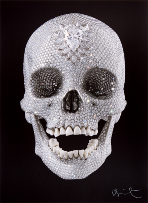 Damien Hirst, For the Love of God, Pray