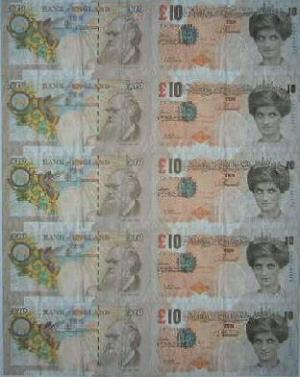 Banksy, Di-Faced Money