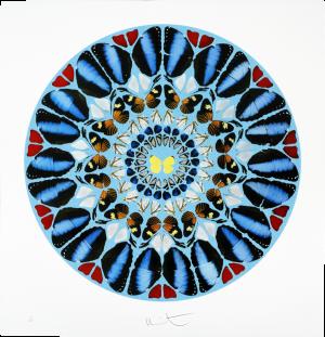 Damien Hirst, Psalm Print: Ad te, Domine, levavi (diamond dust)