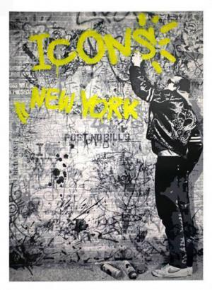 Mr. Brainwash, The Wall Yellow
